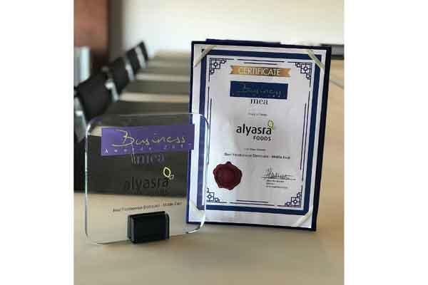 Kuwait's Alyasra wins best foodservice distributor award
