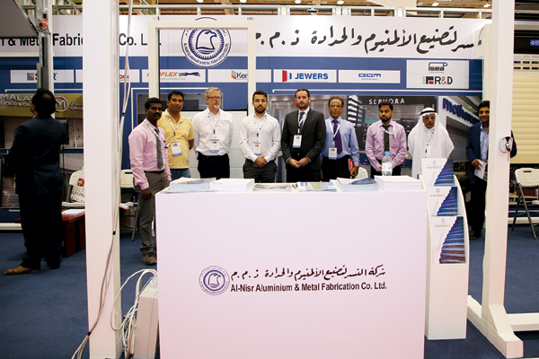 Al Nisr rolls out diverse range of shutters at Bahrain expo