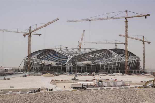 Gulf Construction Online - Qatar's Fifa World Cup stadium