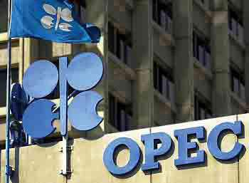Opec ... inventories in April fell to 26 million barrels below the five-year average