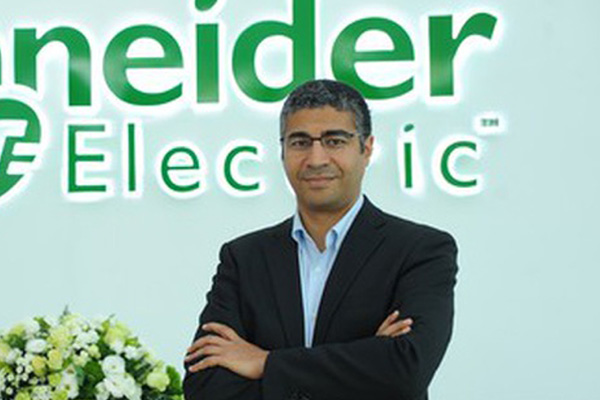 Mourad Tamoud, executive vice president, global supply chain<br>operations, Schneider Electric