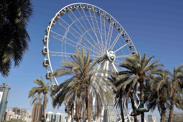 The Eye of the Emirates. Image courtesy: Wam