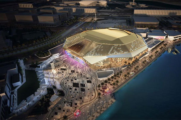 Yas Bay Arena is a state-of-the-art multipurpose<br>venue in Yas Island, Abu Dhabi.