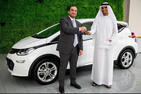Chevrolet Begins Bolt Ev Deliveries Across Uae
