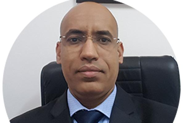 UBM secretary general Mohamed Vall E Alem