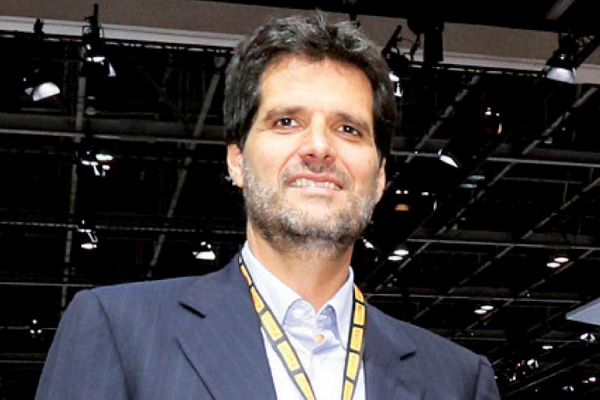 Carlos Milani, managing director of Middle East and Indian<br>subcontinent, Pirelli