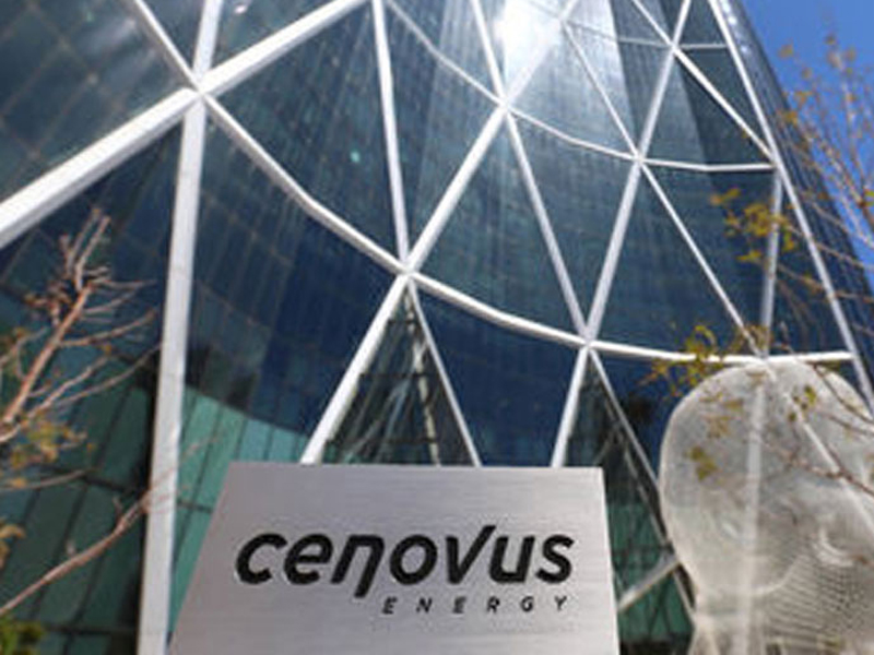 Cenovus ... signing deal with CN