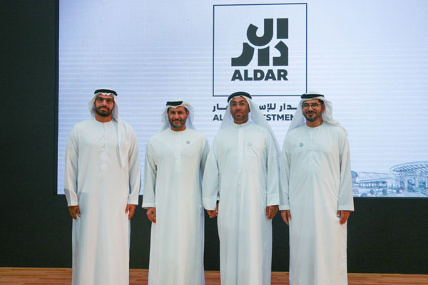 Officials at the signing ceremony held in Abu Dhabi.