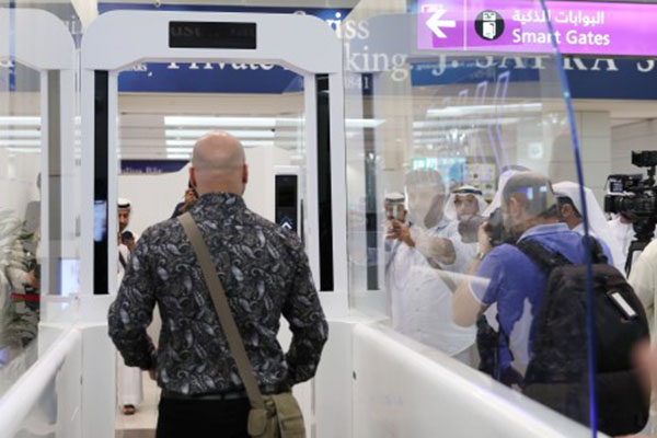 The tunnel works on face recognition technology<br>Image courtesy: WAM