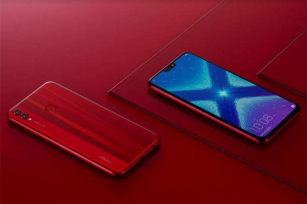 Huawei unveils Honor 8X in new shade of red