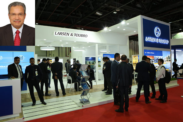 L&T showcasing its decisive EPC expertise at Wetex