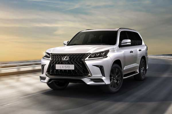 Lexus lx 570 black edition 2019