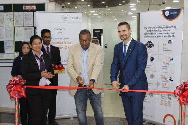 VFS Global opens first Slovakia visa application centre in