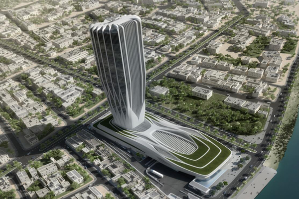 Iraq S 772m Central Bank Hq Project On