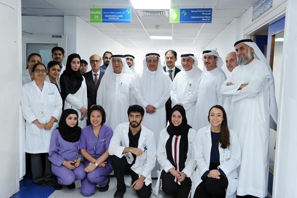 New Neurology, Stroke Unit Opens At Dubai's Rashid Hospital
