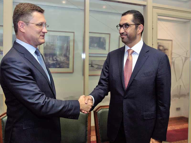 Novak with Dr Al Jaber