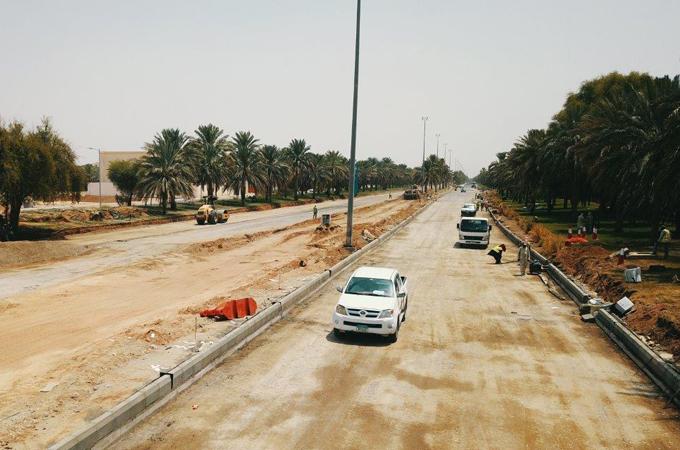 Work on roundabout revamp begins. Image courtesy: Wam