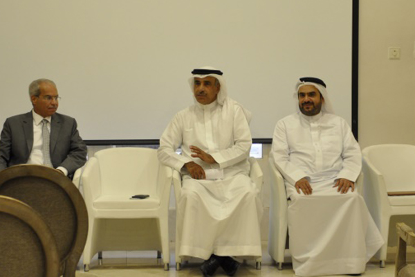 Al-Hamar at the meeting. Image courtesy: BNA