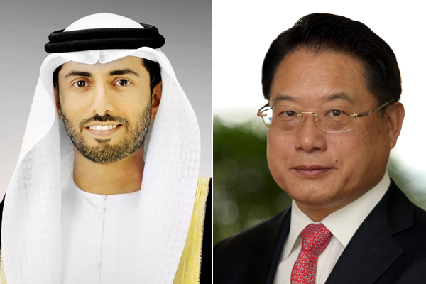 Suhail Mohamed Al Mazrouei and LI Yong