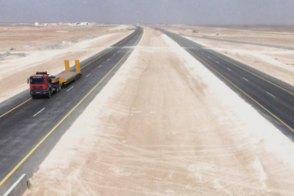 The new highway. Image courtesy: Oman Daily Observer