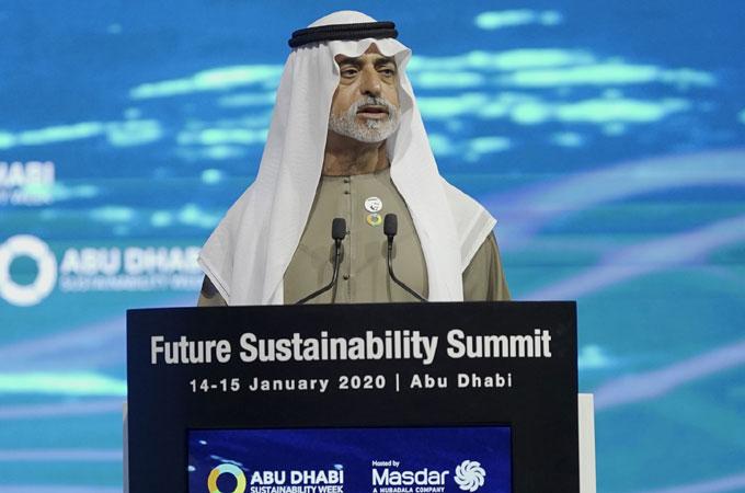 Sheikh Nahyan bin Mubarak Al Nahyan, UAE Minister of Tolerance, opens the summit
