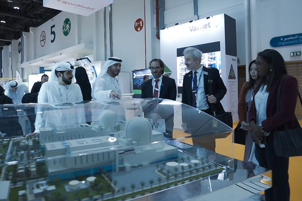 The ENEC stall at WFES