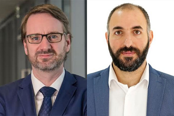 Andrew Horncastle and Nadim Haddad
