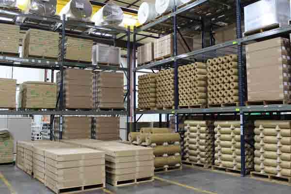 The Cortec warehouse