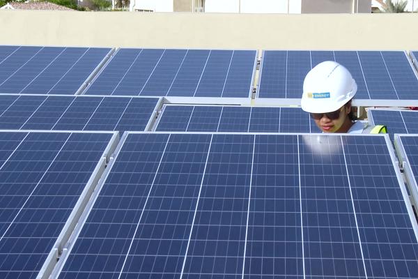 Sharaf Dg Energy Installs Solar Panels At 500 Dubai Villas