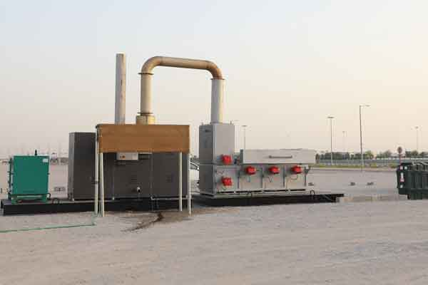 The new incinerator