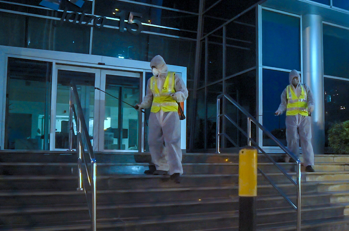 Jafza conducts disinfection drive across all its facilities