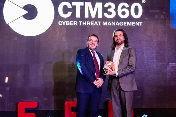CTM360 winning an award