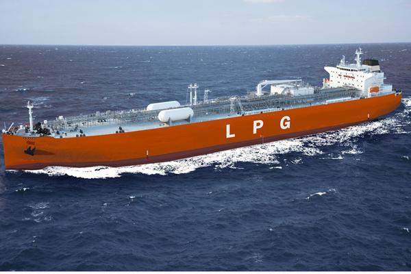 A VLGC vessel