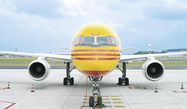 A DHL Express aircraft