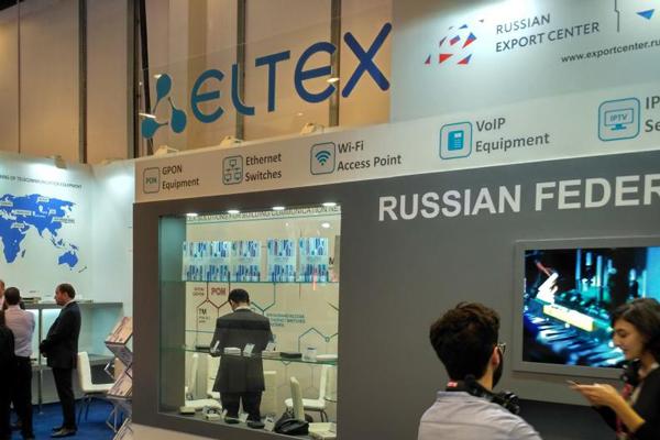 Eltex at a former edition of Gitex