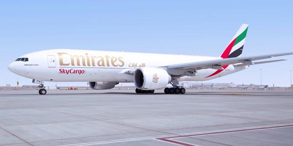 Emirates SkyCargo jet