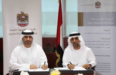 UAE ministries ink eco awareness deal